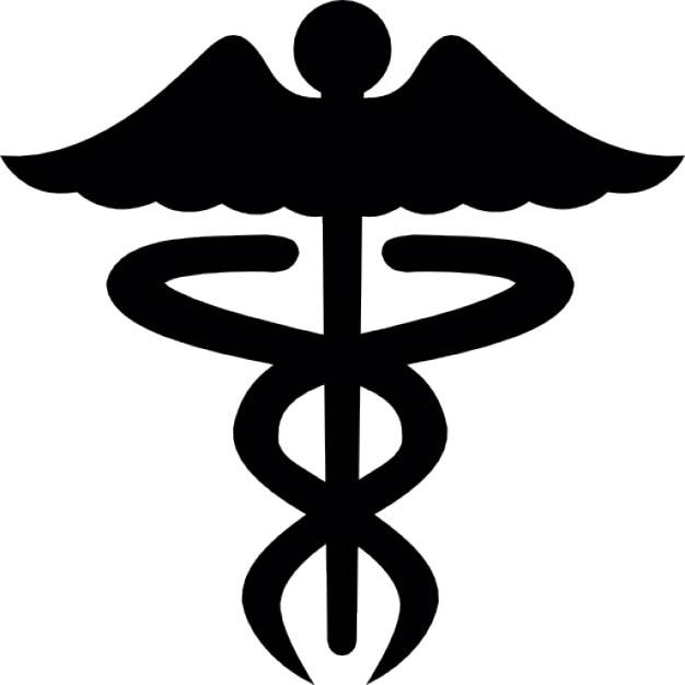 caduceus medical care icon vector vector free download rh freepik com caduceus medical symbol vector free medical alert symbol vector
