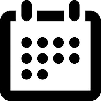 カレンダーのアイコン