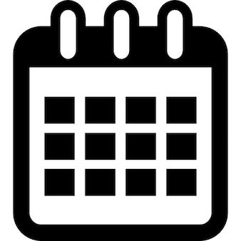 カレンダーインターフェイスシンボルツール