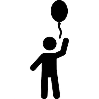 Child with a balloon
