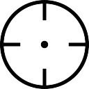 Circular target symbol