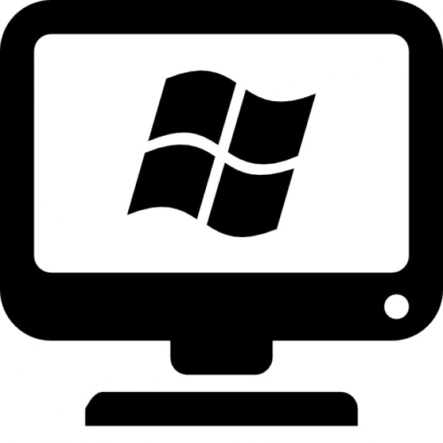 Computer with windows
