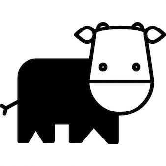 Cow cartoon variant