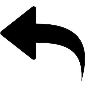 Black Back Arrow