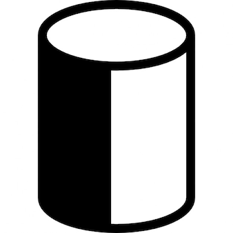 Cylindrical object in two dimensions