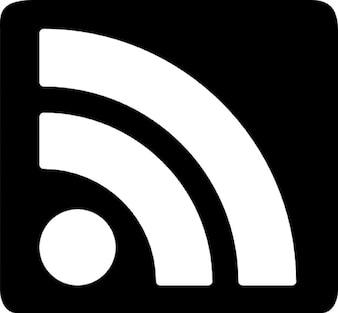 Dark RSS Symbol