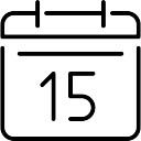 Day 15 on calendar