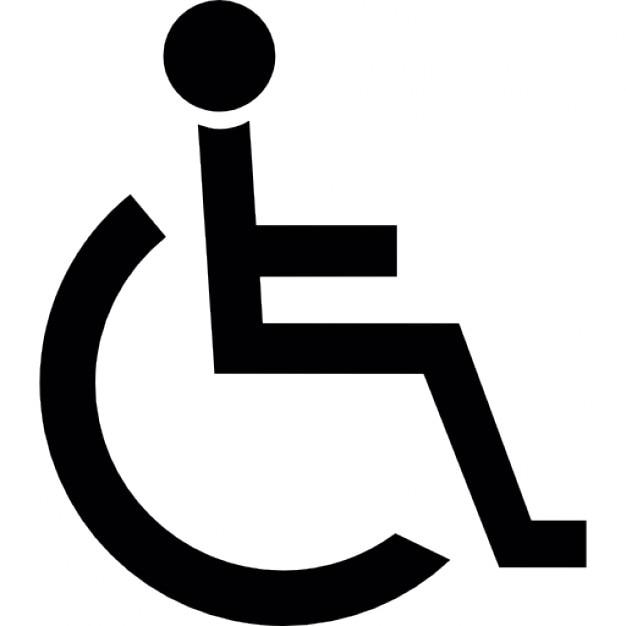 handicapped sign vectors photos and psd files free download rh freepik com handicap accessible symbol vector handicap symbol vector art
