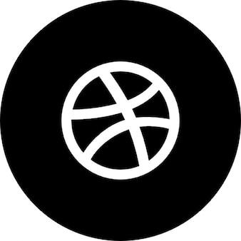 Dribbble круг