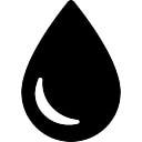 Drop silhouette
