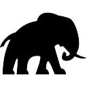 Elephant Facing Right