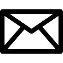 電子メールの封筒ボタン