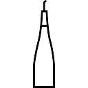 Empty Alcoholic Drink Bottle