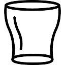 Empty Wide Glass