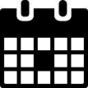 Event calendar symbol
