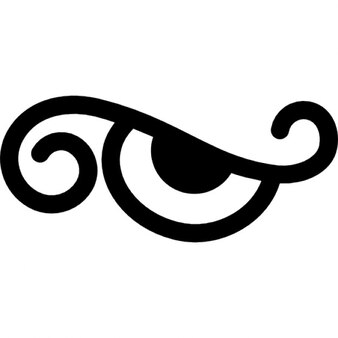 Eye cartoon design variant