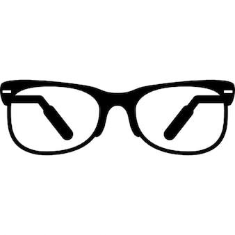 Eyeglasses with half frame