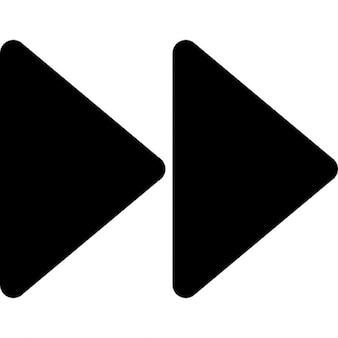 Fast forward media control button