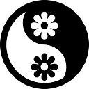 Flower Yin Yang