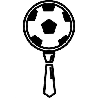 Football ball and tie