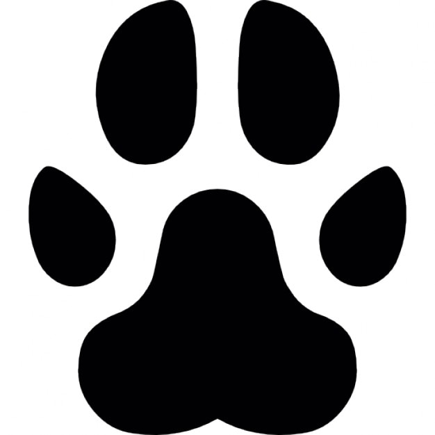 paw footprint vectors photos and psd files free download rh freepik com vector paw print trail vector paw print outline