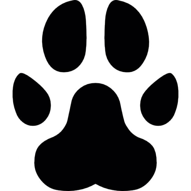 paw footprint vectors photos and psd files free download rh freepik com vector paw print image vector bear paw print