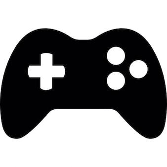 3つのボタンを持つゲームパッド