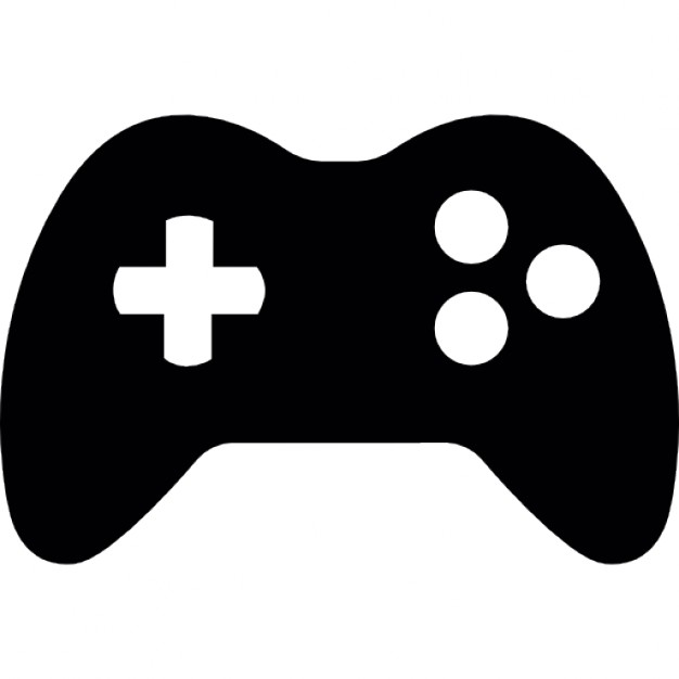 Gamepad with 3 buttons