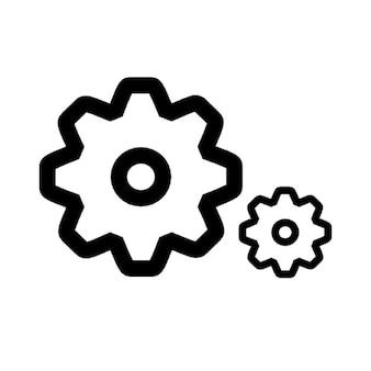 Gears of settings
