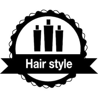 Hair style badge