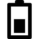 Half battery sign