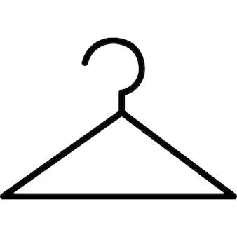 Hanger in thin version