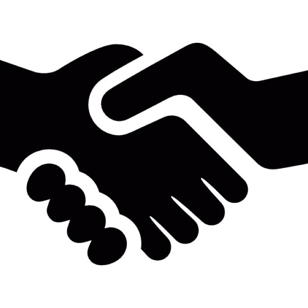 shake hands vectors photos and psd files free download rh freepik com shaking hands vector icon shaking hands vector icon free