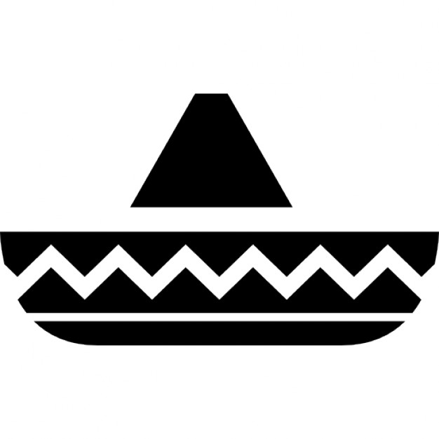 Hat of horseman typical of Mexico