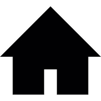 House black building shape