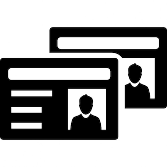 ID cards with profile images variant