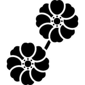 Ikebana aesthetic arrangement