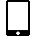 IPad with blank screen