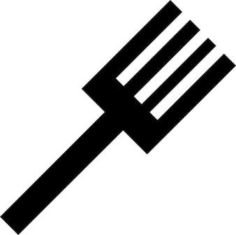 Kitchen utensil. big fork