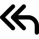 Left Arrows Icon