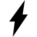 Lightning Bolt Symbol Of Flash Icons