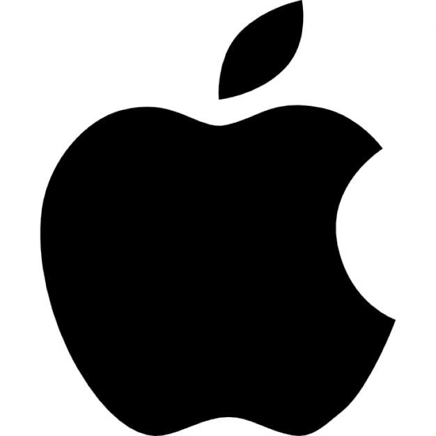 apple logo icons free download rh freepik com apple computer clipart black and white