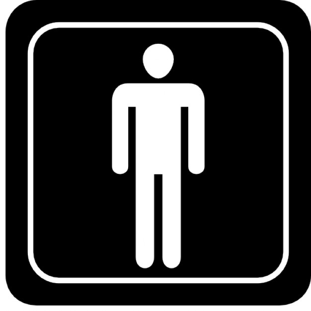 Man signal in square