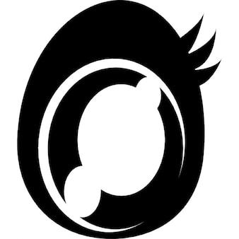 Manga character eye