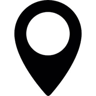Map pin circle
