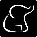 Meneame social network logo of an elephant