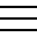 Menu of three lines