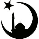 Mosque Moon and Star