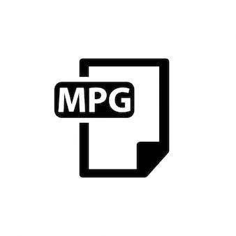 Расширением mpg