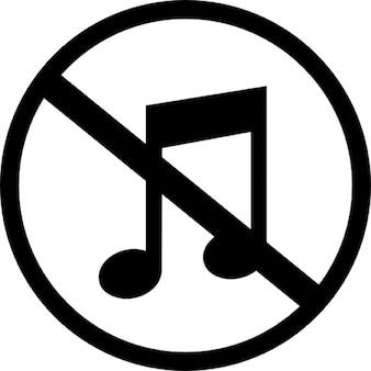 Muted music